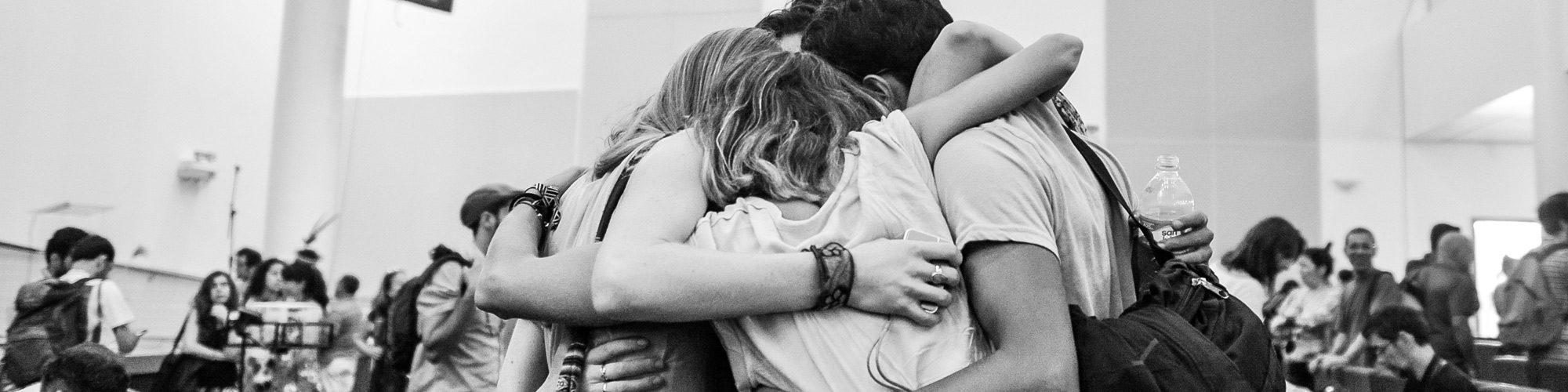 team people hug ICEERS