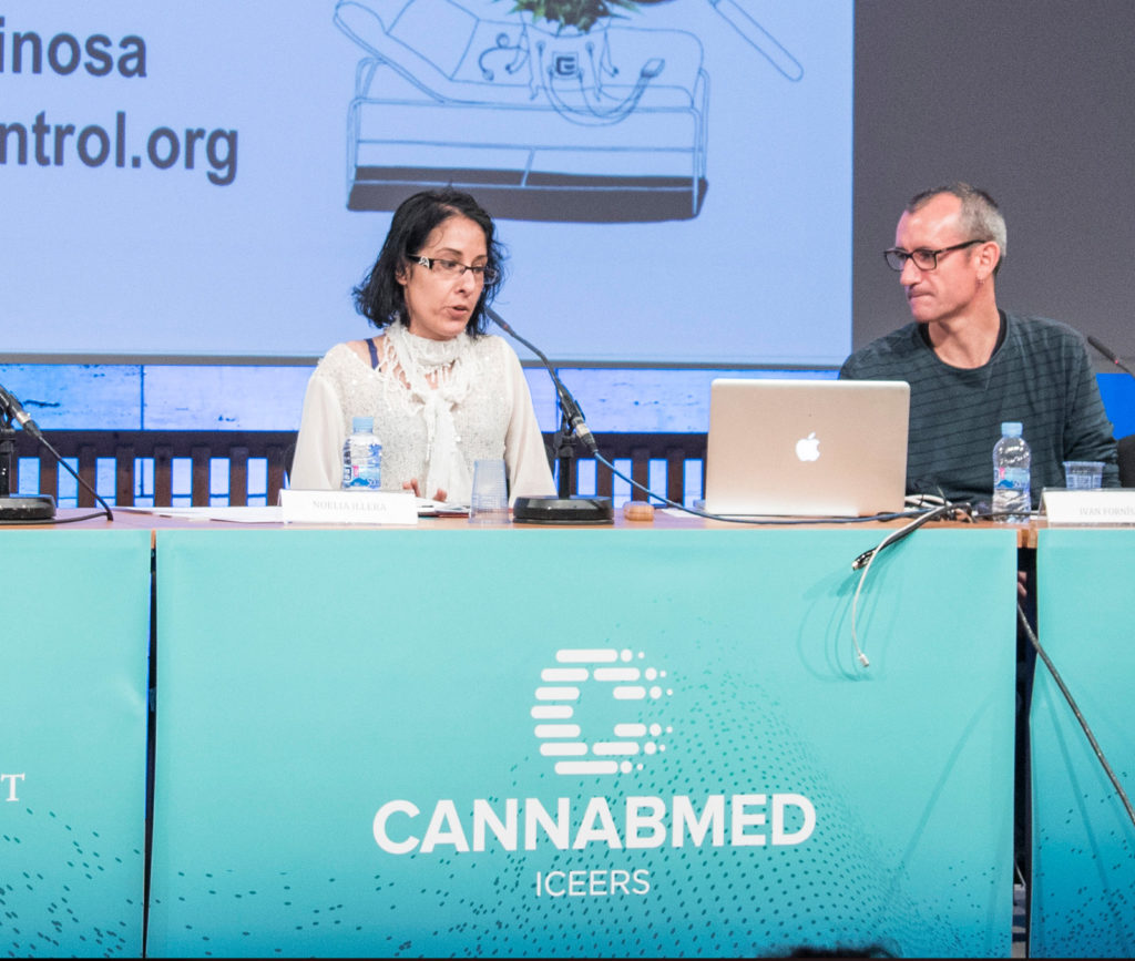 cannabis medicinal Cannabmed podcast Congreso CANNABMED 2018 ICEERS Claudio Vidal