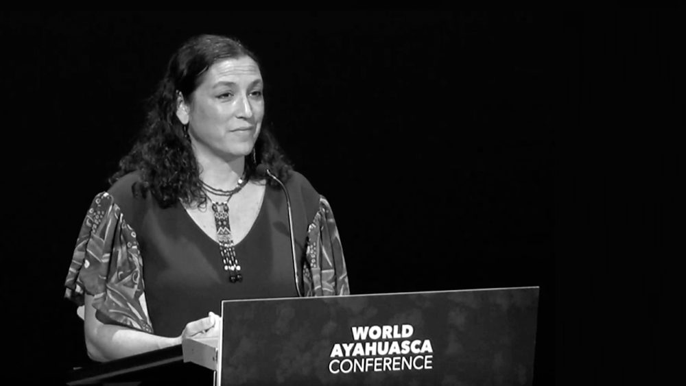 Leila Salazar Amazon rights AYA2019 World Ayahuasca Conference Girona ICEERS