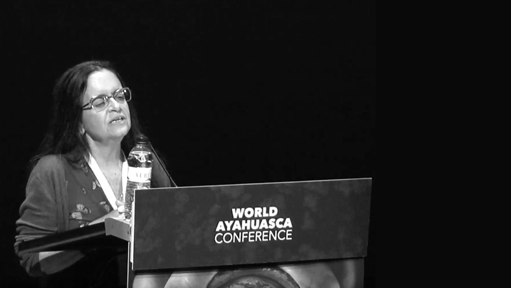 Vera Froés AYA2019 plants plantas World Ayahuasca Conference