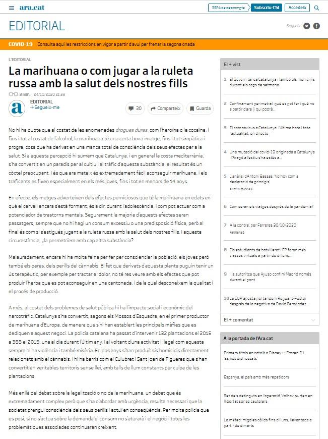 editorial marihuana