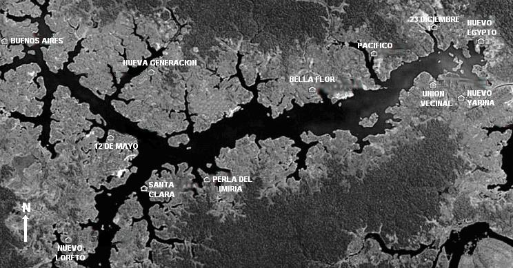 foto satélite ayahuasca