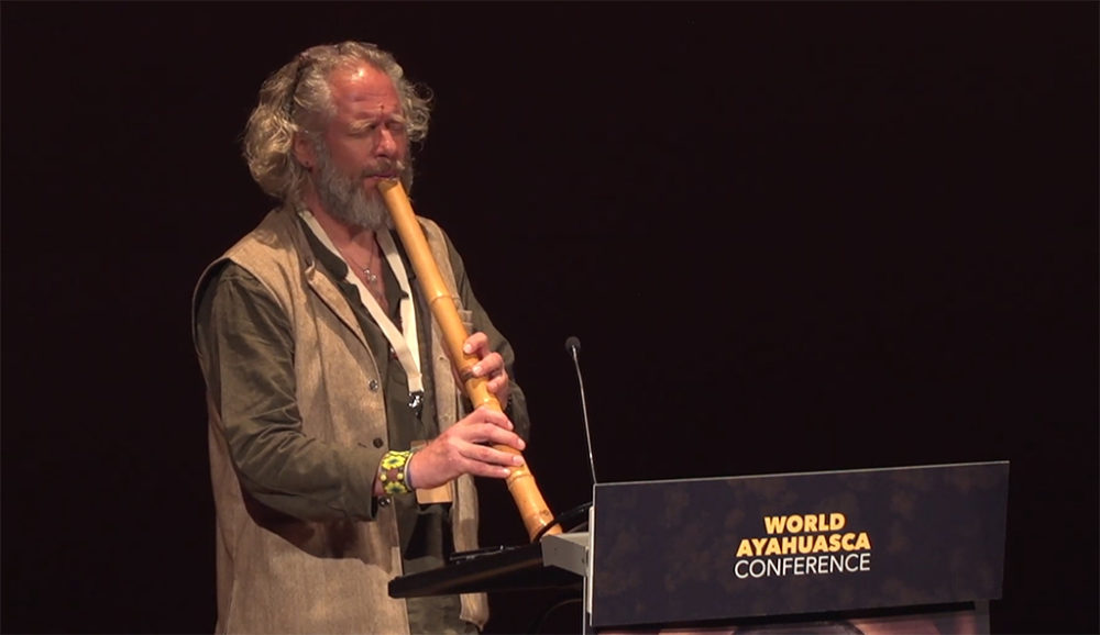 Adrian Freedman ayahuasca legal journey AYA2019 World Conference iowaska ICEERS flute