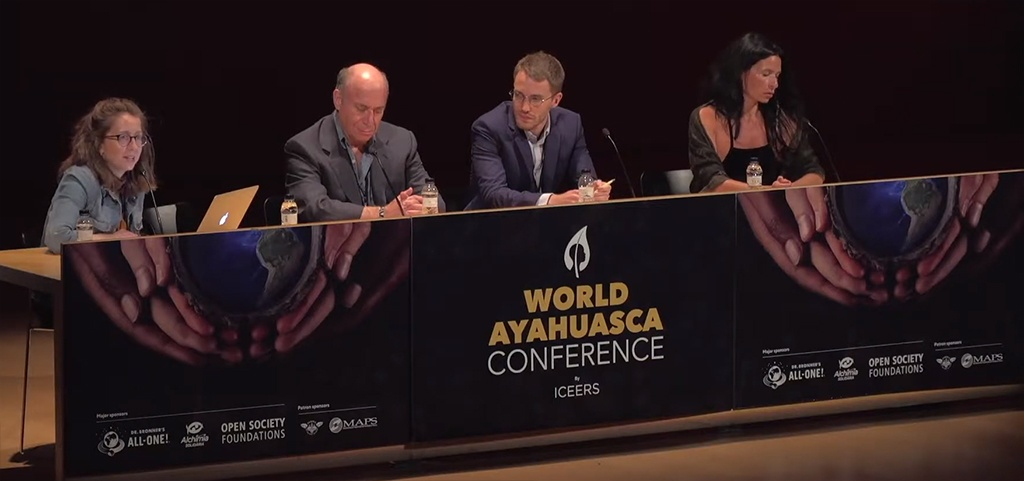 Policies for ayahuasca World Conference iowaska Constanza Sánchez Charlotte Walsh Jeffrey Bronfman Ben Meeus human rights ICEERS