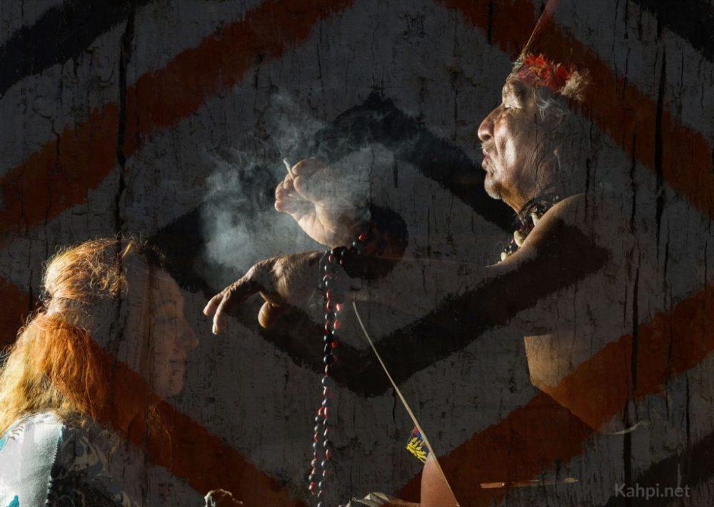 ayahuasca ceremonia chamán tradicional